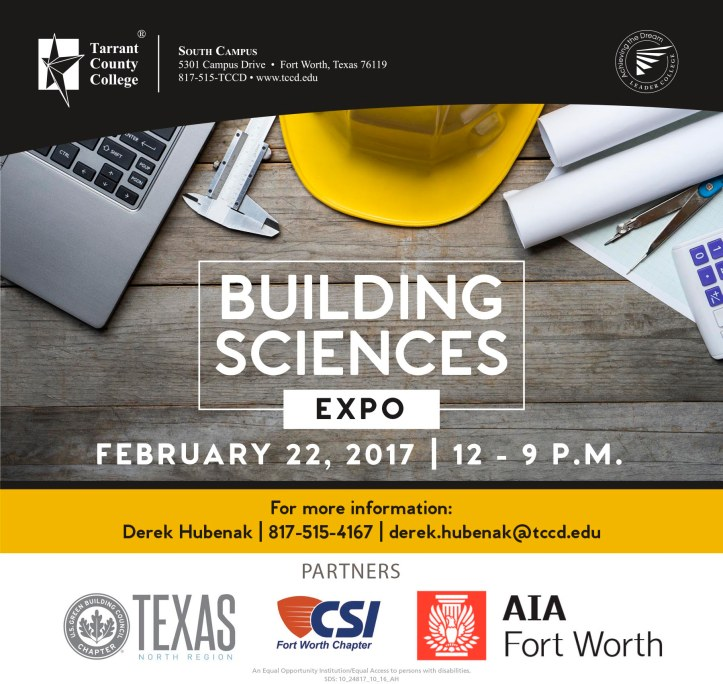 Building Sciences Expo 2017 Save the Date