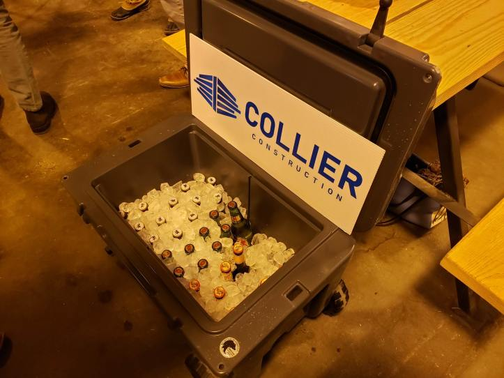 Collier Construction Sponsor